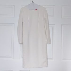 Betsy Johnson White Jackie O style dress